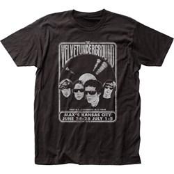 Velvet Underground - Mens Velvet Vinyl Fitted T-Shirt