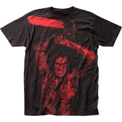 Evil Dead II - Mens Ash Williams Big Print Subway T-Shirt
