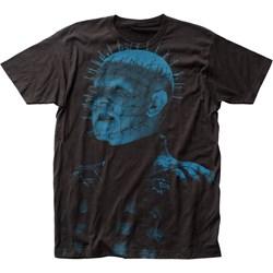 Hellraiser - Mens Pinhead Big Print Subway T-Shirt