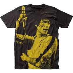 Bruce Lee - Mens Big Print Subway T-Shirt