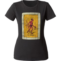 Impact Originals - Womens El Diablo Lotería T-Shirt