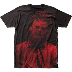 Texas Chainsaw Massacre - Mens Leatherface Big Print Subway T-Shirt