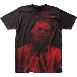 Texas Chainsaw Massacre - Mens Leatherface Big Print Subway T-Shirt