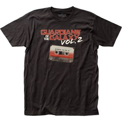 Guardians Of The Galaxy - Mens Awesome Mix Vol. 2 Fitted T-Shirt