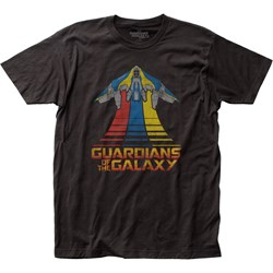 Guardians Of The Galaxy - Mens Milano Flying Fitted T-Shirt