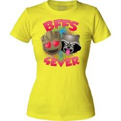 Guardians Of The Galaxy - Womens Bffs 4 Ever T-Shirt