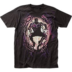 Black Panther - Mens Hulkbuster Big Print Subway T-Shirt