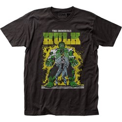 The Incredible Hulk - Mens Transforming Fitted T-Shirt