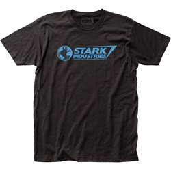 Iron Man - Mens Stark Industries Fitted T-Shirt