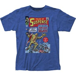 Iron Man - Mens Tales Of Suspense Fitted T-Shirt