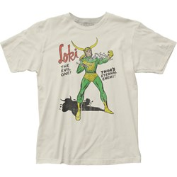 Loki - Mens The Evil One Fitted T-Shirt