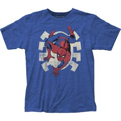 Spider-Man - Mens Crawling Fitted T-Shirt