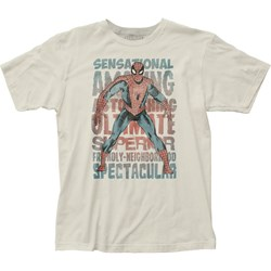 Spider-Man - Mens Sensational Spider-Man Fitted T-Shirt