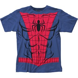 Spider-Man - Mens Spidey Suit Big Print Subway T-Shirt