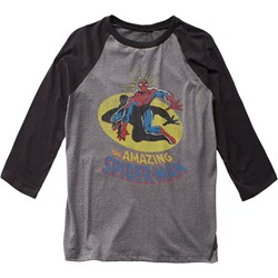 Spider-Man - Mens Spidey Sense Baseball Jersey