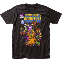 Thanos - Mens The Infinity Gauntlet Fitted T-Shirt