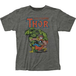 Thor - Mens Vs. Hulk Fitted T-Shirt