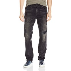 True Religion - Mens Ricky Straight Jeans With Flaps