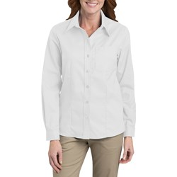 Dickies - Womens L/S Stretch Oxford Top