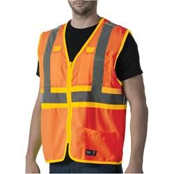 Walls - Mens W38230 Ansi Ii Premium Safety Hi Visibility Vest