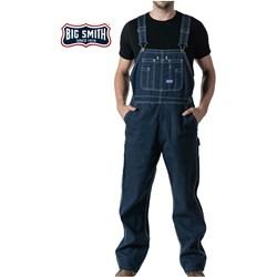 Walls - Mens 94009 Big Smith Rigid Denim Bib Overall