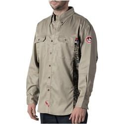 Walls - Mens 56144 Fr Oilfield Camo Work Shirt