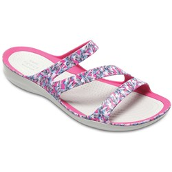 Crocs - Womens Swiftwater Graphic Sandal