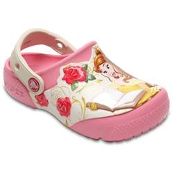 Crocs - Unisex-Child Kids' Fun Lab Princess Belle Clog Shoes