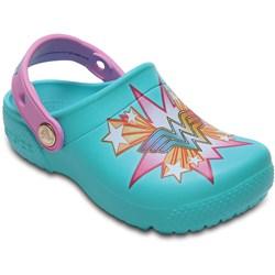 Crocs - Unisex-Child Crocs Fun Lab Wonder Woman Clog Shoes
