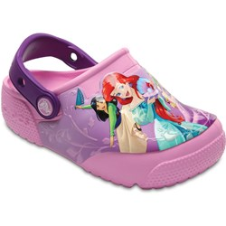 Crocs - Unisex-Child Kids' Fun Lab Lights Princess Clog Shoes