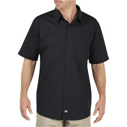 Dickies - Mens LS516 Worktech S/S Premium Ventilated Performance Woven