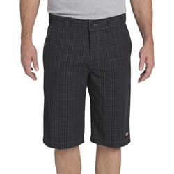 "Dickies - WR978 13"" Regular Fite Multi-Pocket Plaid Short"