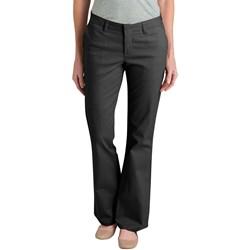 Dickies - Womens Slim Boot Stretch Twill Pants
