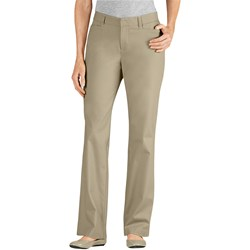 Dickies - FP342 Womens Curvy Straight Stretch Twill Pants
