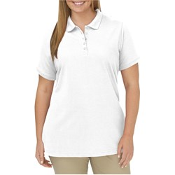 Dickies - Womens Plus Size SW023 Solid Pique Polo Shirt
