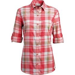 Dickies - Womens Plus Size SW091 Plaid Quarter Sleeve Woven