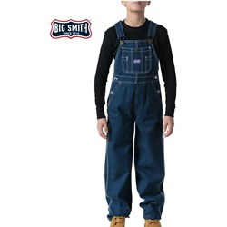 Walls - Boys 94050 Big Smith Denim Bib Overall