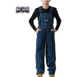 Walls - Boys 94080 Big Smith Denim Bib Overall