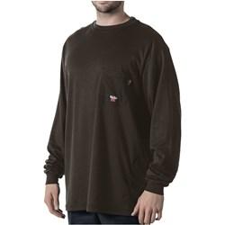 Walls - Mens 56951 Fr L/S Crew Shirt