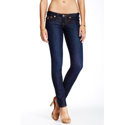 True Religion - Womens Basic Skinny Jeans With Flaps