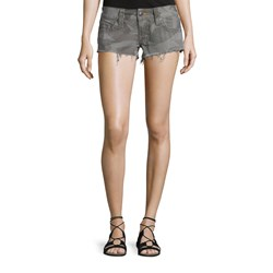 True Religion - Womens Bobby Cut Off Shorts