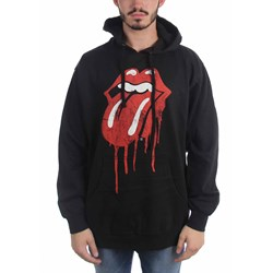 Rolling Stones - Mens Dripping Tongue Hoodie