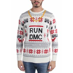 Run Dmc - Mens Run Dmc Chain Ugly Sweater