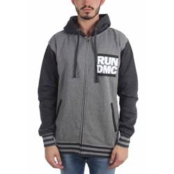 Run Dmc - Mens Run Logo Varsity Hoodie