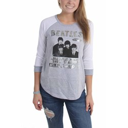 The Beatles - Womens In Person Shea Stadium Foil Raglan Shirt