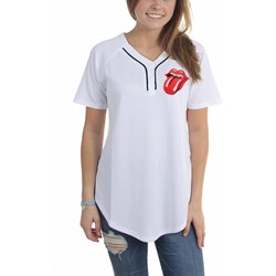 Rolling Stones - Womens Rolling Stones Junior Baseball Basketball Jersey