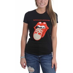 Rolling Stones - Womens Skull Tongue T-Shirt