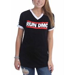 Run Dmc - Womens Horizontal Logo Soccer T-Shirt
