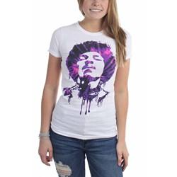 Jimi Hendrix - Womens Tie Dye Drip T-Shirt