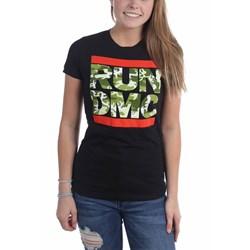 Run Dmc - Womens Camo T-Shirt